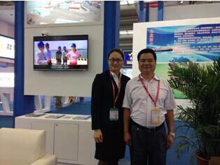 肇慶三榕港參展2014國際物流與交通運輸博覽會