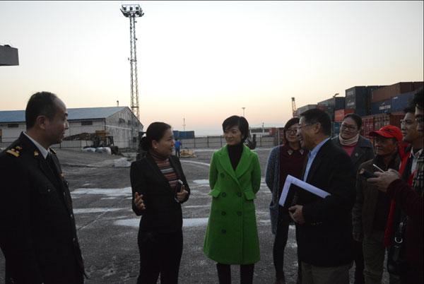 肇慶市副市長陳宣群到三榕港調研