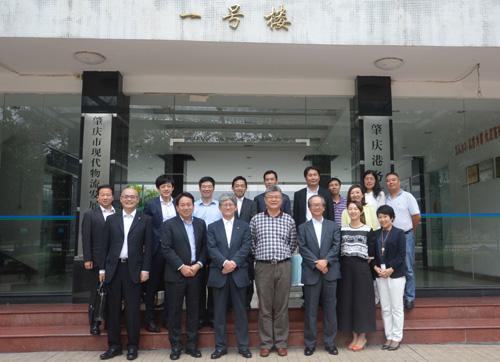 日本丸紅公司中國區代表一行蒞臨福加德參觀
