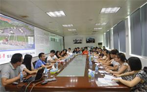 珠海城市職業技術學院師生赴我司考察學習